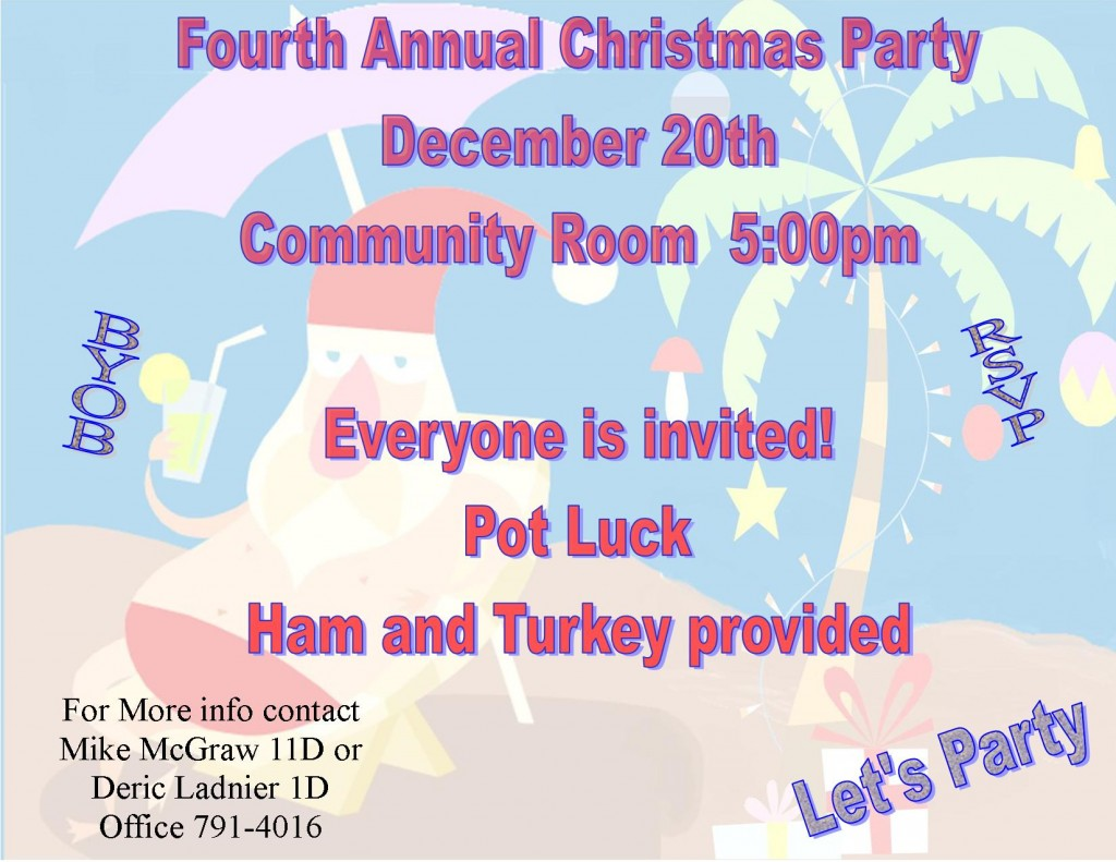 Fourth Annual Christmas Party - Copy
